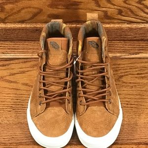 21be1cb181 Vans Shoes - Vans Sk8 Hi 46 MTE DX Glazed Ginger Flannel Shoes